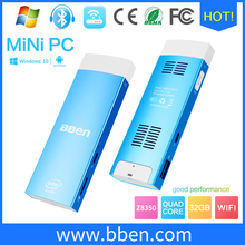 BBen Mini PC Windows 10 & Android 5.1 Intel pc Z8350 Quad Core Dual OS RAM 2G ROM 32G HDMI Wifi BT4.0 Mini PC Computer TV Stick