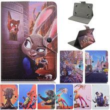 Rabbit officers generally 7 inch tablet PU Leathet case stand cover for Toshiba for Google huawei MOTOROLA SONY 7.0 inch tablets