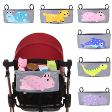 Baby Stroller Bag Organizer Diaper Bag Nappy Bag Mama Carriage Buggy Pram Cart bag Basket Hook Backpack Stroller Accessories(China)