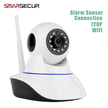 Buy Smart Wireless IP Camera 720P HD WiFi Networ Security Night Vision Audio Video Surveillance CCTV Camera Smart Home Baby Monitor for $29.90 in AliExpress store