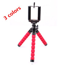 KLL mobile phone camera stand for iphone tablet universal flexible holder octopus triangle phone stent support Mount Monopod
