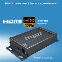 150M HD 1080P HDMI Extender Over IP Transmitter TX RX with CAT5e CAT6 RJ45 Ethernet Cable Support HDMI 3D for TV Projector DVD