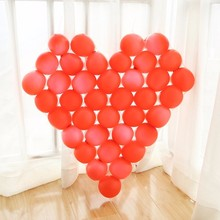 1PC 60cm Heart Shape Balloon Grids For Valentines Romantic Wedding Birthday Party DIY Decorations Gridding(China)
