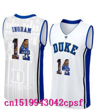 2017 Hot Sale Devils Garyson Ingram #14  Duke Blue Basketball Jerseys High Quality