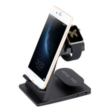 A16 Portable Charging Stand Holder Dock Station Cradle for iWatch for iPhone Smartphones for iPad Tablet(China)