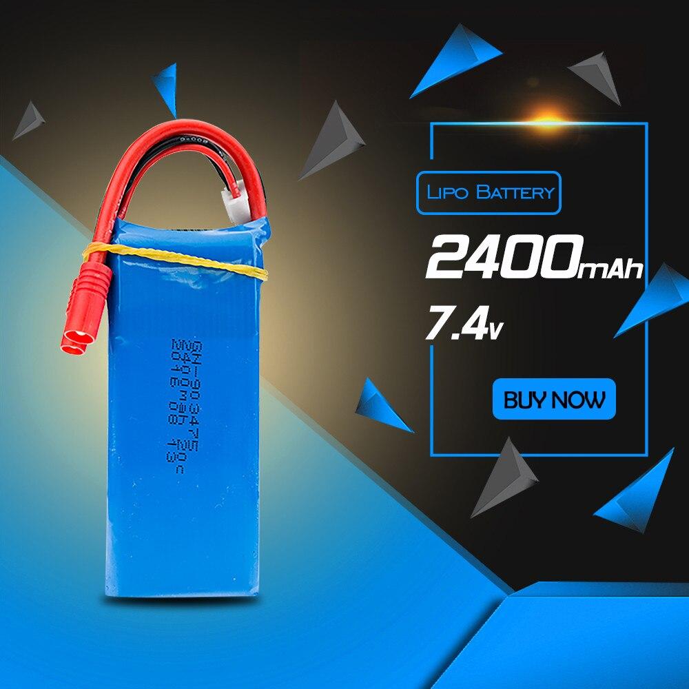 Syma X8W lipo 7.4v 2400mah  battery for syma  X8C X8G rc Quadcopter drone spare part wholesales<br><br>Aliexpress