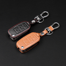 New Car Styling Key Cover For Volkswagen VW Jetta MK6 Tiguan Passat Golf 4 5 6 POLO cc bora Skoda octavia A5 Yeta Fabia Leather