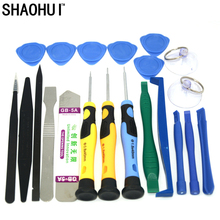 21 in 1 Mobile Phone Repair Tools Kit Spudger Pry Opening Tool Screwdriver Set for iPhone iPad Samsung Cell Phone Hand Tools Set