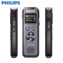 PHILIPS VTR5800 100% Original USB Digital Voice Recorder Mini Spy Pen 8GB OLED Display Recording Linear PCM Record