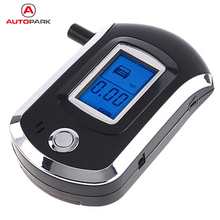 Professional Alcohol Tester Mini Digital LCD Breath Alcohol Tester Analyzer Meter High Sensitive Alcohol Breathalyzer