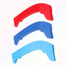 3Pcs ABS M Color Car Front Stripe Clip Clamp Trim For Series 3 E90 E91
