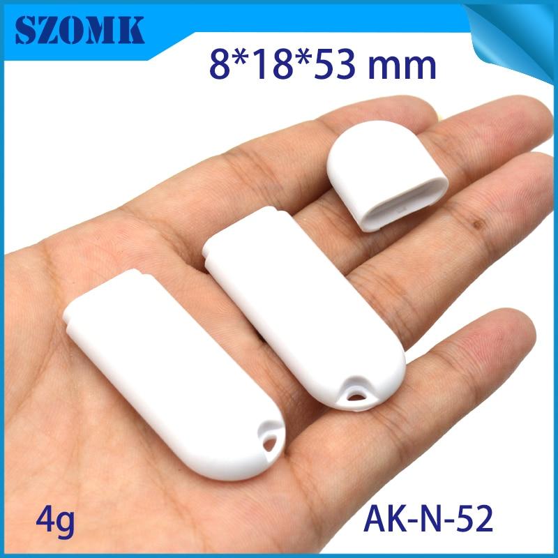 szomk plastic box for electronic usb control box diy small usb stick enclosure project box plastic housing usb stick flash drive instrument case (9)