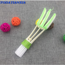 1PCS Car Air Outlet Vent Brush Dust Cleaning Tools suzuki jimny mercedes benz opel corsa c qashqai nissan suzuki mustang