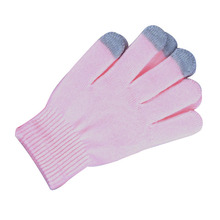 Classic Winter Knit Cell Phone iphone Touch Screen Gloves Warm Soft Pink