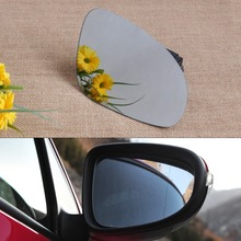 DWCX New Car Right Side Wing Mirror Glass Heat With Holder for VW Golf GTI Jetta MK5 EOS Rabbit Passat B6 FreeShipping&Tracking(China)