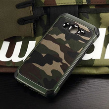 Army Camo Camouflage Pattern Back Cover Hard PC + Soft TPU Armor Protective Phone Case For Samsung Galaxy J5 J2 J3 J7 J1 Mini