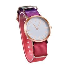 OKTIME Fashion Women Dress Watches Causal Rainbow Band Analog Quartz Round Wrist Watch Watches relogios femininos Clock 2017 New(China)
