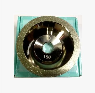 Free shipping of 1pc high quality 180# 100D*10W*5U*20H*35T alloy wheel bowl diamond grinding wheel for alloy blade sharpening<br><br>Aliexpress