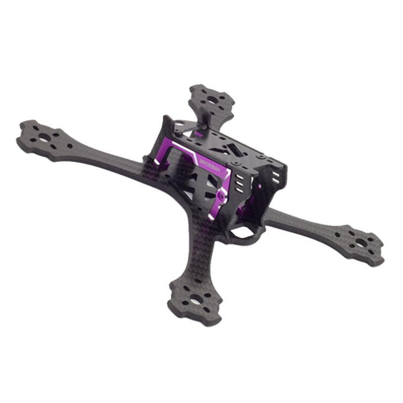 High Quality Awesome F200 200mm 4mm Arm FPV Racing X Frame Carbon Fiber &amp; CNC Aluminum Alloy For RC Model Toys Parts<br>