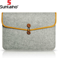 Newest Soft Sleeve Case Bag For Macbook Laptop AIR PRO Retina 11 13 15 inch For MacBook Carry Pouch Cover For Lenovo Notebook