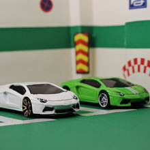 1:64 Alloy car model kids toys Lamborghin LP700 Sports car Family small ornaments Children like the gift worth collecting(China)