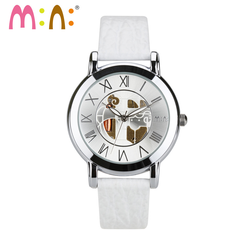 Luxury Brand Luminous Women Watches Waterproof Leather Bracelet Ladies Quartz Wrist Watch Clock Hours Woman 2017 Reloj De Mujer<br>
