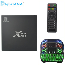 DQiDianZ X96 Android 6.0 4K S905X Quad Core WIFI TV BOX with smart Set-top Box
