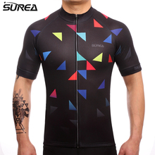 2017 Latest Surea High Quality Special Printing Jerseys Short Sleeve Cycling Shirt Bicycle Clothes Bike Ropa Ciclismo Uniform