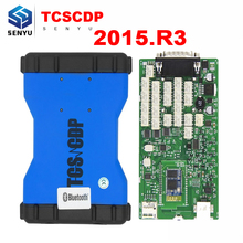 TCS CDP PRO 2015.R3/2014.R2 with Keygen Green Single PCB OBD OBD2 Diagnostic TCS Pro 3 in 1 Bluetooth Cars and Trucks Scanner