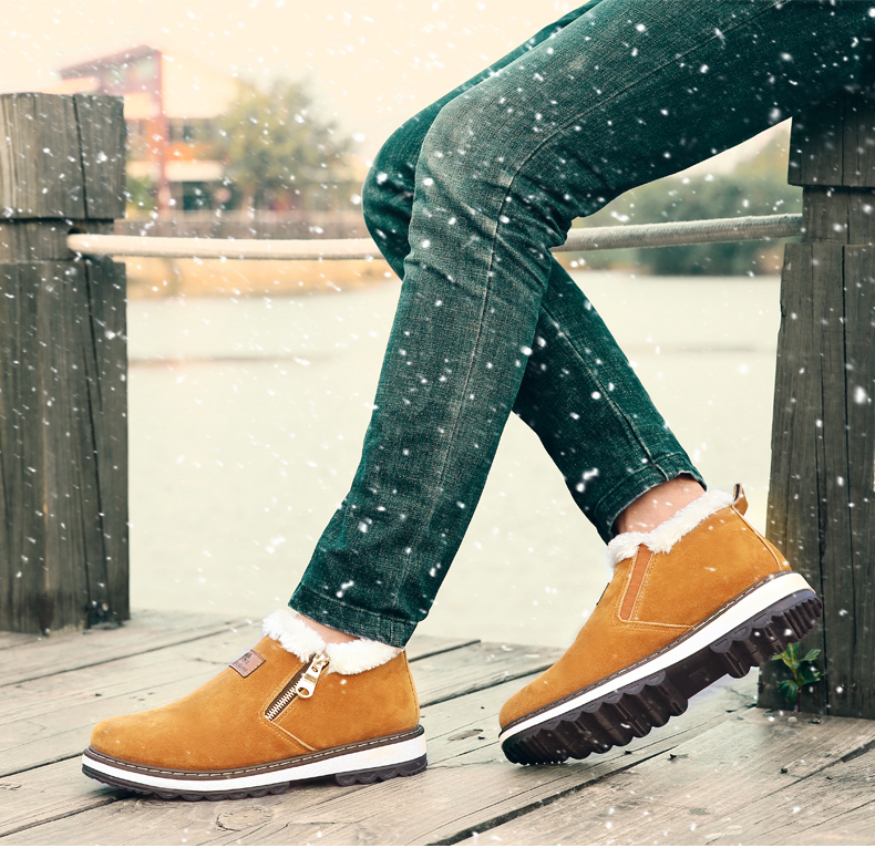 New Arrival Lace-Up Men Fashion Boots Wear Resistant Handmade Ankle Boots Working Boots Men Casual Shoes Size 39~44 11