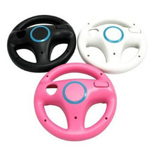 JESBERY Kart Racing Game Steering Wheel Controller For Nintendo Wii Accessories Game Remote Controller 3 Colors(China)