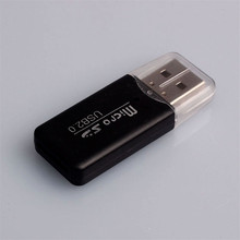 Universal Card Reader For phone Computer High Speed Mini Usb 2.0 Micro SD TF Memory Card Reader Adapter Hot Sale # 20