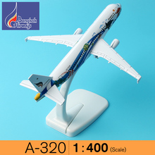 A-320 Bangkok Thailand aircraft model 16cm Airways Airplane Model Plane Model W Stand Gift