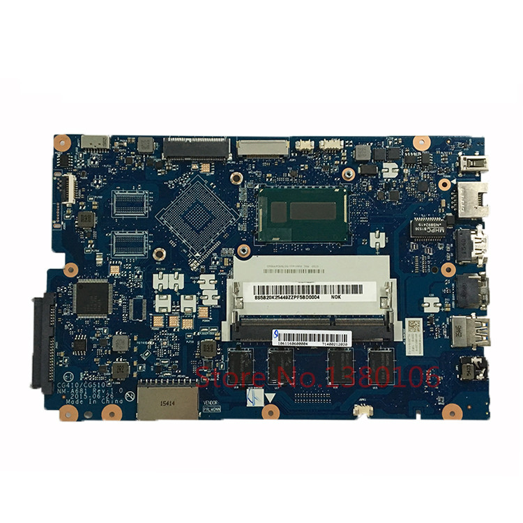 KEFU CG410/CG510 NM-A681 FOR Lenovo 100-15IBD Laptop Motherboard WITH SR243 3215U 100% Fully Tested