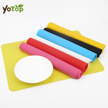 YOTOP Silicone Mats Baking Liner Silicone Oven Mat Heat Insulation Pad Bakeware Kids Foods Mats Non-stick Cooking Tools 40*30cm(China)