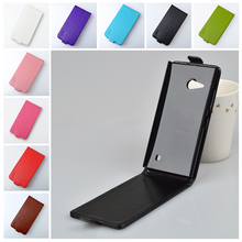 For Nokia Lumia 730 735 Case High Quality Leather Cover For Nokia N730 N735 Protect Skin Phone Cases J&R Bags(China)