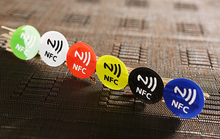 (6 pcs/lot) NFC Smart Tags 13.56mhz RFID Ntag203 Stickers Label for Samsung Note3 S4 Nokia Lumia Nexus4/10 LG HTC Sony xperia(China)