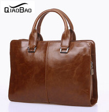 QIAOBAO Men's Messenger bag, big promotion leather shoulder bag man bag casual fashion ipad briefcase, free shipping