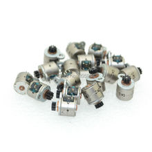 100pcs Nidec Micro Stepper Motor Two Phase Four Wire 6MM Dia Stepping Motor For Camera