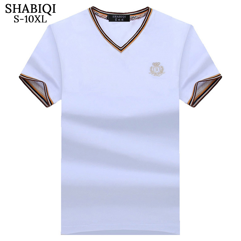 SHABIQI Classic Brand Men shirt Men Polo Shirt Men Short Sleeve Polos Shirt T Designer Polo Shirt Plus Size 6XL 7XL 8XL 9XL 10X 7