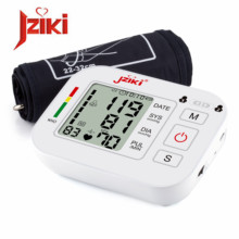 Home health automatic blood pressure measurement Lcd Upper Arm Blood Pressure Monitor Heartbeat monitoring(China)