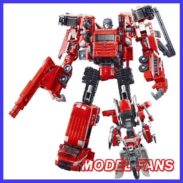 MODEL FANS IN-STOCK weijiang robot metal made  TF five fit derormation Fire warrior 30cm high  freeshipping<br>