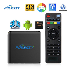 Buy PUERSIT I9X TV Box Amlogic S905X Kodi Quad Core 1G RAM 8G ROM Android 6.0 YouTube DTS Dolb HD Mini Smart Top Box Media Player for $40.00 in AliExpress store