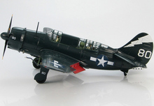 HM 1/72 HA 2210 WWII US SB2C-4 Hell Avenger bomber model USS Shangri-La 1945 Favorites Model