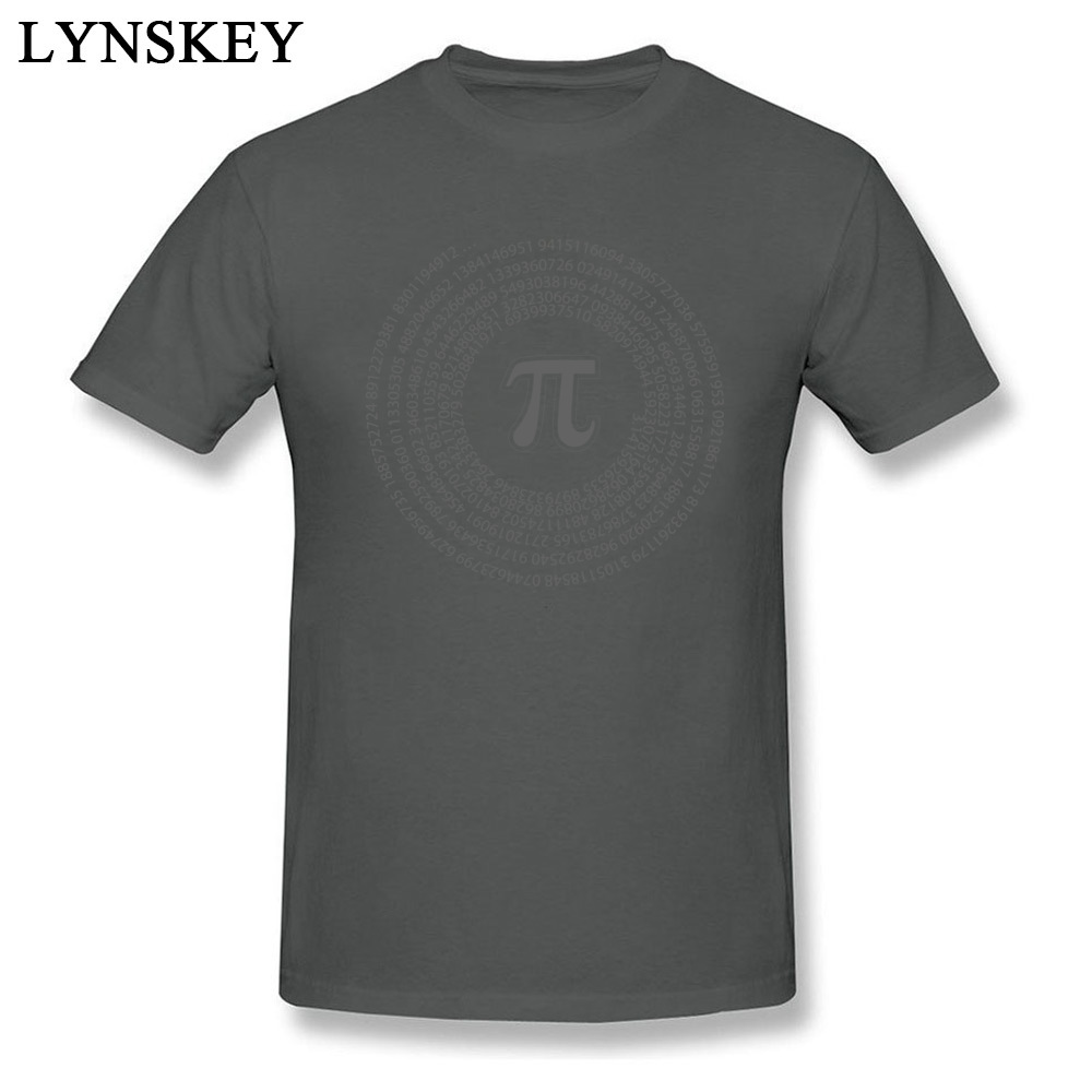Group Tops T Shirt Funny Round Collar Short Sleeve Pi day vortex mathematical constant 100% Cotton Men T-shirts Casual Summer Tee-Shirt Pi day vortex mathematical constant carbon