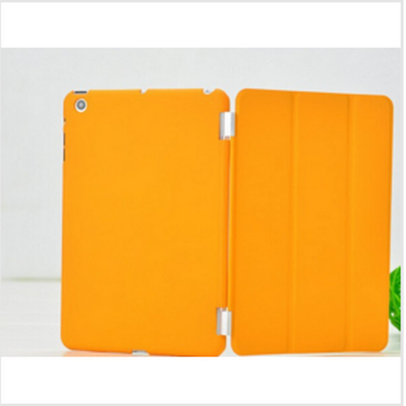 2017 Case For Apple ipad 6 Rubberized hard case protective back cover +smart cover front case skin free shipping<br><br>Aliexpress