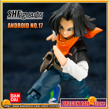 DRAGONBALL Dragon Ball Z/Kai Original BANDAI Tamashii Nations S.H.Figuarts / SHF Exclusive Action Figure Toy - Android NO.17