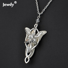 Arwen Even star Pendant necklaces for women arwen crystal chokers necklace Hobbit movies silver plated fashion jewelry
