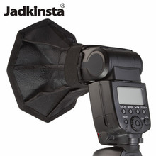 Jadkinsta 30cm Octagon Flash Diffuser for Canon Speedlite Photo Studio Accessories Soft Box 8 Square Mini Softbox(China)