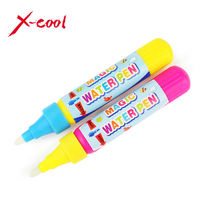 Drawing Pen / Doodle Magic Pen / Water Drawing marker without cover cap / just add water Blue or red